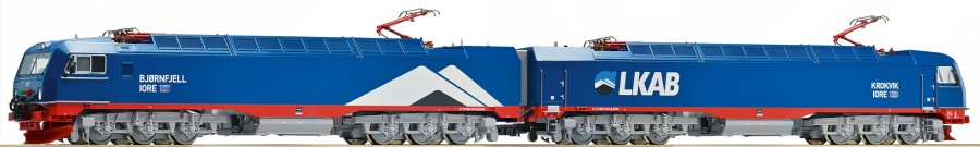 Roco 72658 LKAB IORE Double Electric Locomotive VI (DCC-Sound)