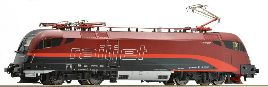 Roco 73232 OBB Rh1116 Railjet Electric Locomotive VI