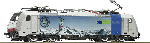 Roco 73666 BLS Cargo BR186 Electric Locomotive VI