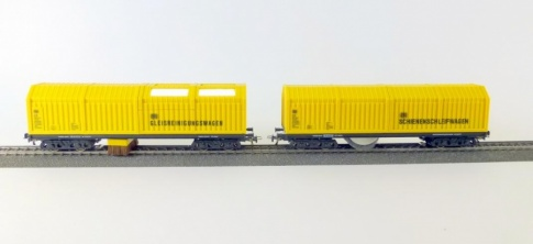 Lux-Modellbau 9631 Cleaning wagons  H0 Double Pack.