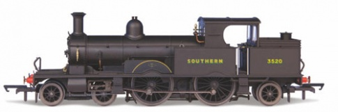 Oxford Rail OR76AR007XS Adams Radial Steam Loco - Southern Late (DCC-Sound)