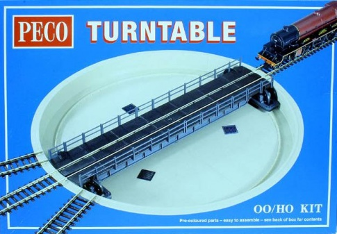 Peco Products LK-55 76ft Well type turntable