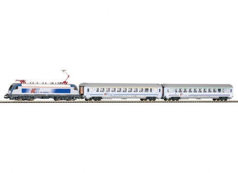 PIKO 59002 SmartControl light Set Passenger train E-loc Taurus with 2 passenger cars PKP