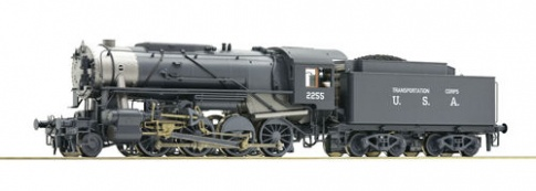 Roco 72150 USTC S160 Rattlesnake Steam Locomotive II
