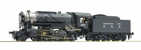 Roco 72151 USTC S160 Rattlesnake Steam Locomotive II (DCC-Sound)