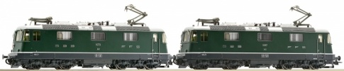 Roco 72418 SBB Re4/4 Electric Locomotive Twin Pack IV