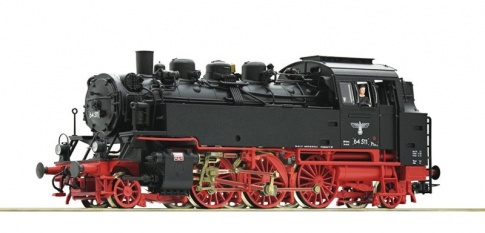 Roco 73201 steam locomotive DRG DR63 511 with sound