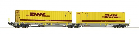 Roco 76421 - AAE Articulated pocket wagon