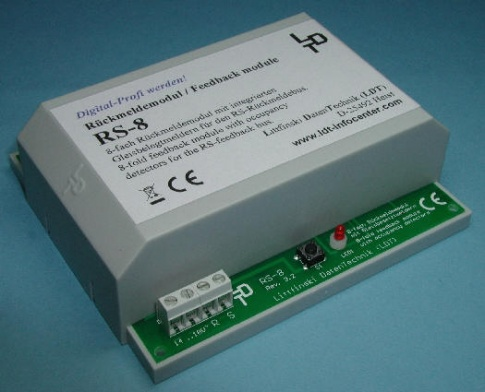 LDT RS-8 Feedback Module with integrated occupancy detector