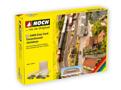 Noch 53600Karlsberg Easy Track Raiwlay layout kit