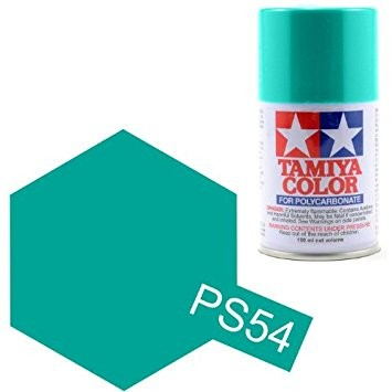 Tamiya PS-54 Polycarbonate Spray Paint 100ml Can Cobalt Green For Clear PC RC