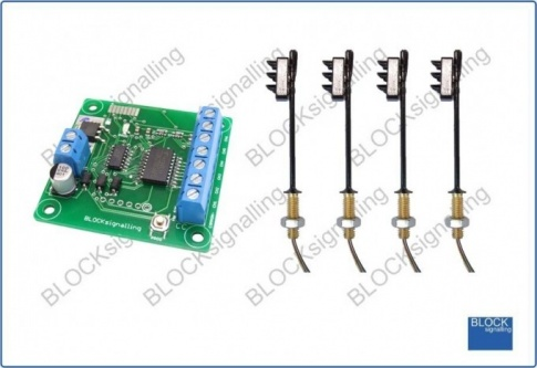 BLOCKsignalling TLS2-OO-X Traffic Lights for Crossroads