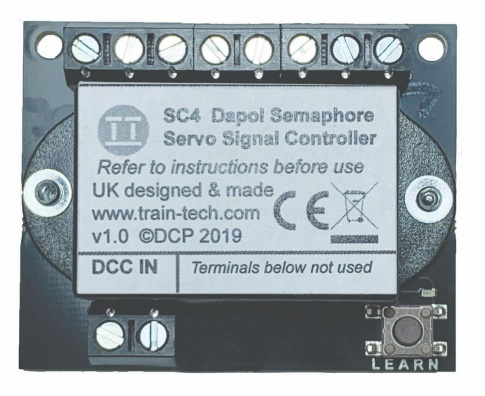 Train-Tech Dual Dapol Servo Signal Control Plus Automation