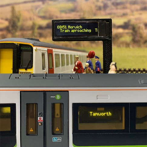 Train Tech SD1 Smart Screen - Single Pack