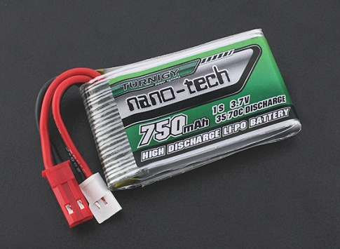 Turnigy nano-tech 750mAh 1S 35-70C Lipo Pack