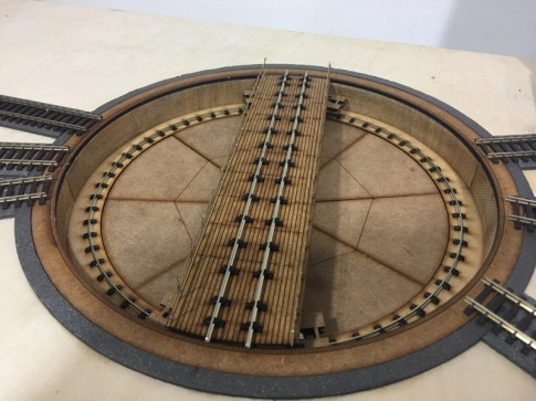 Turntable OO Gauge Laser Cut äóñ Fully Built