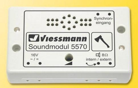 Viessmann 5570 eMotion - Chopping Wood Sound Module
