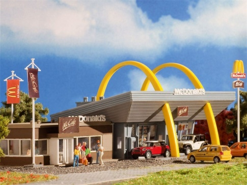 Vollmer 47766 McDonald's with McCafe
