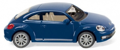 Wiking 002902 VW Beetle in Blue Metallic