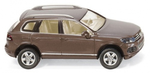 Wiking 007702 VW Touareg in Metallic Brown