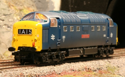 YouChoos Class 55 Diesel Deltic Zimo Sound Decoder